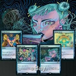 Secret Lair Bundle 7 Sets NEW IN HAND MTG Magic The Gathering FOIL PLANESWALKERS