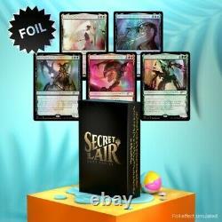 Secret Lair Phyrexian Praetors Compleat Edition Foil Edition PREORDER Sealed