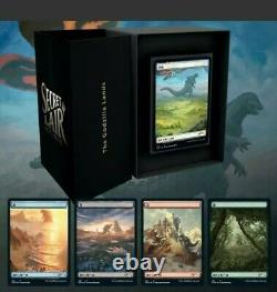 Secret lair Godzilla Lands Magic The Gathering Trading Cards, Collectible