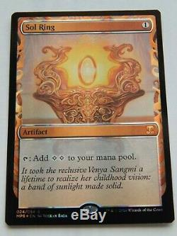 Sol Ring Masterpiece Foil 2016 Kaladesh Inventions
