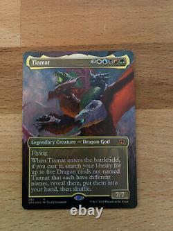 TIAMAT BORDERLESS ART FOIL Forgotten Realms. In hand pack fresh