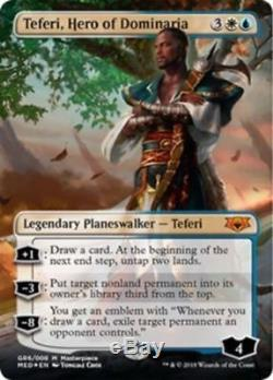 Teferi, Hero of Dominaria FOIL MtG Guilds Of Ravnica Mythic MASTERPIECE