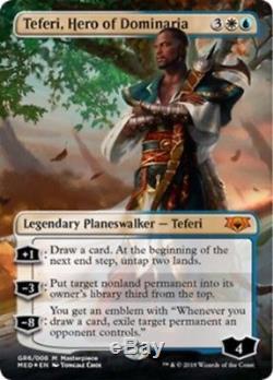 Teferi, Hero of Dominaria Guilds of Ravnica Mythic Edition Foil MTG