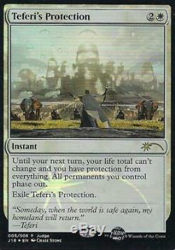 Teferis Protection (Judge Promo) Near Mint Foil English Promotional Cards MTG