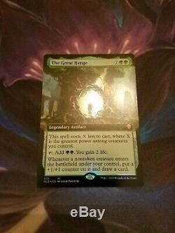 The Great Henge Foil Extended Art Box Topper Mythic MTG Throne of Eldraine