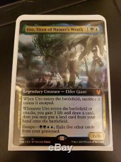 Theros Beyond Death Uro, Titan of Nature's Wrath NM/M (Extended Art Foil)