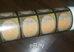Uncut Foil Mythic Rare Sheet Magic the Gathering War of the Spark MTG, In Hand