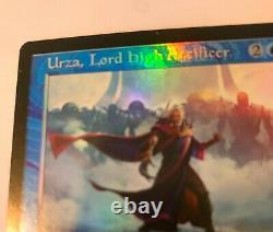 Urza, Lord High Artificer FOIL (Not Etched) Retro Frame MODERN HORIZONS 2 MTG NM