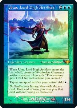 Urza, Lord High Artificer Retro NON-ETCHED FOIL MTG Modern Horizons 2 NM