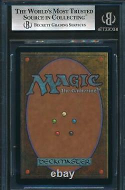 Urza's Legacy Grim Monolith BGS 8.5 Graded Magic MTG FOIL (0078)