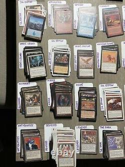 Vintage 1994-2012 MTG Collection Lot Antiquities 3rd Legends Dark Fallen 4th Ice