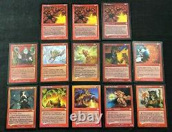 Vintage MTG Magic The Gathering Rare FOIL Lot of 50 Cards Legacy -9th