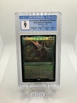 Vorinclex Monstrous Raider Phyrexian Foil CGC NM/M Kaldheim Mtg Magic Lot