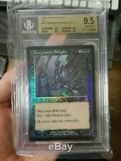 Yawgmoth bargain foil urza`s destiny 1999 MTG BGS9,5 PSA